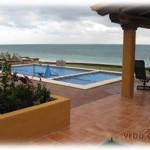 Beach front vacation rental house in Puerto Morelos