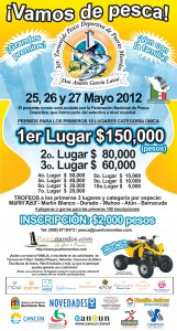 Puerto Morelos 2012 Fishing Tournament