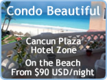 Beachfront Cancun Vacation Rental - Condo Beautiful